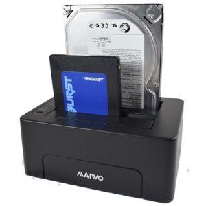 Maiwo Dual Clone HDD Bay