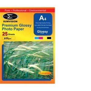 Sumvison Glossy A4 25 – 200