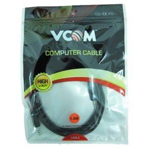 Vcom Stereo Jack 3.5mm 1.8m
