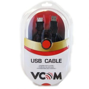 Vcom USB Extension 5m