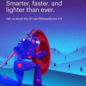 Computer Service with Malwarebytes